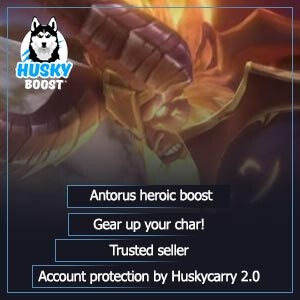 Antorus heroic boost: fair price and account protection