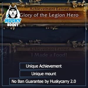 Glory of the legion hero boost