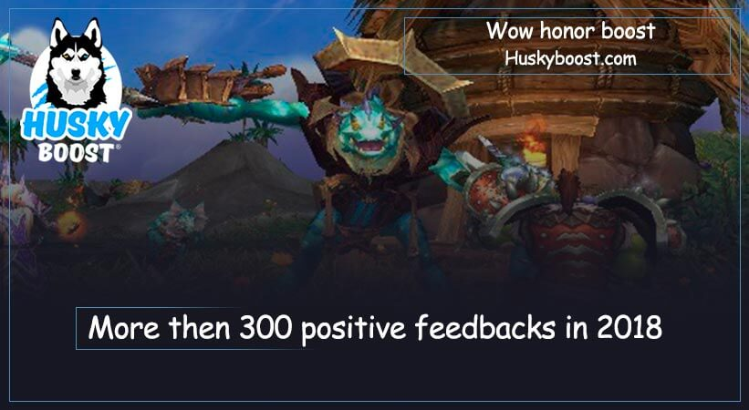 Wow honor boost