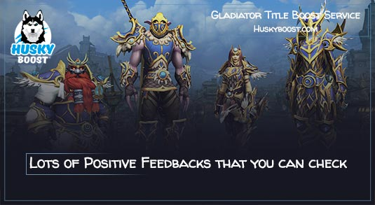 WoW Gladiator Title Boost Service