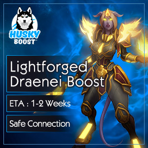 Lightforged Draenei Unlock Boost
