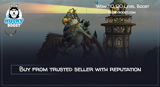 Buy Wow 110 120 Power Level Character Boost Service