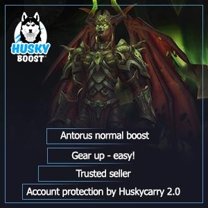 Antorus normal boost: cheap price and account protection