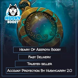 Heart of Azeroth Ilvl Boost