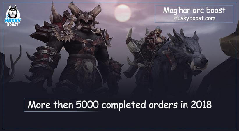 Maghar orc boost