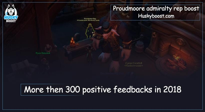 Proudmoore admiralty reputation boost