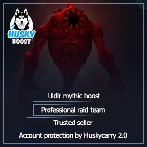Uldir mythic boost: cheap price and account protection