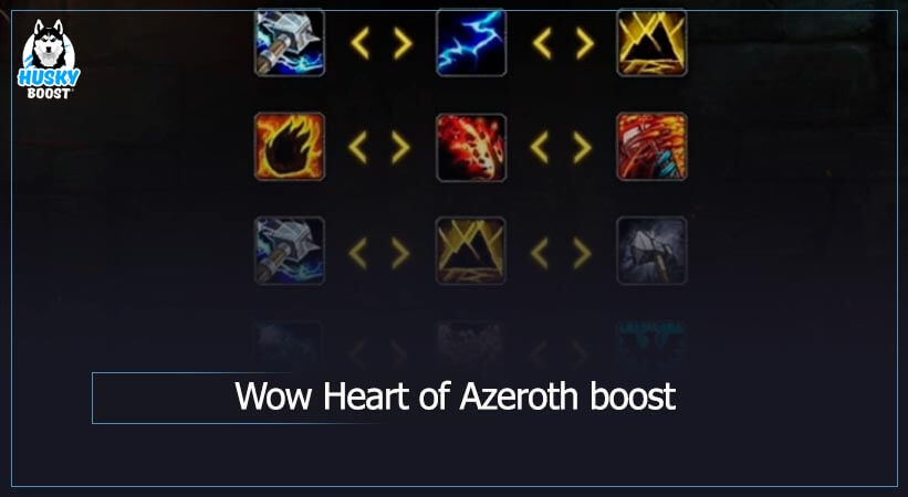 WoW Heart of Azeroth boost
