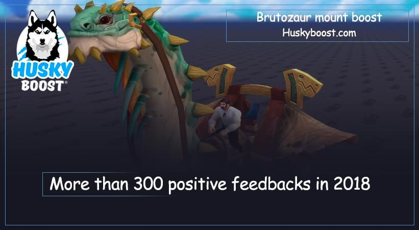 Brutosaur mount boost