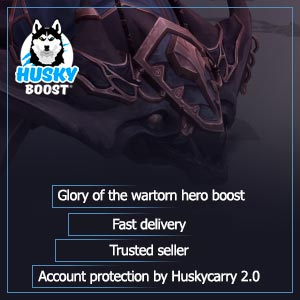 Glory of the wartorn hero boost