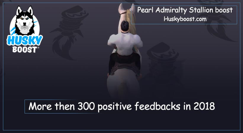 Reins of the Pearl Admiralty Stallion boost