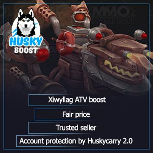 Xiwyllag ATV boost: fair price and maximum account protection service