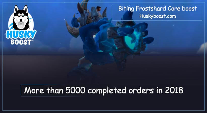 Biting Frostshard Core boost
