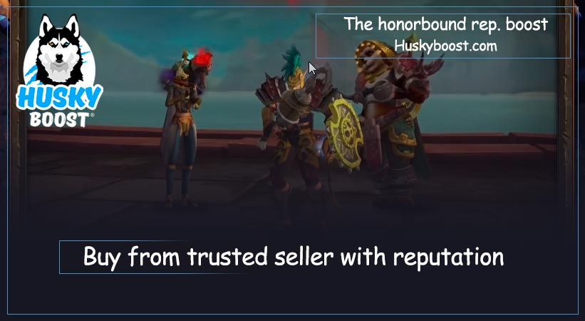 The honorbound reputation boost