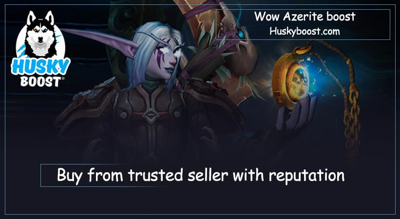 Wow azerite boost