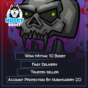 Wow Mythic 10 Boost Image