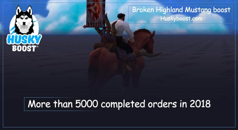 Broken Highland Mustang boost