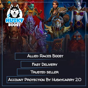 Buy WOW Allied Races Boost