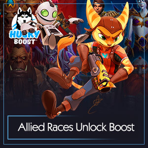 Buy WoW Allied Races Unlock Boost Image