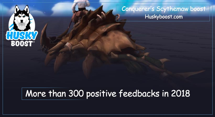 Conquerer's Scythemaw boost