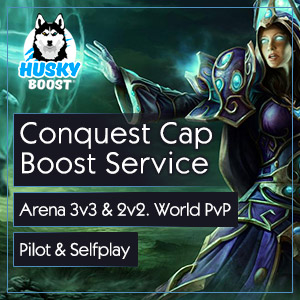 Wow Conquest Cap Boost Service