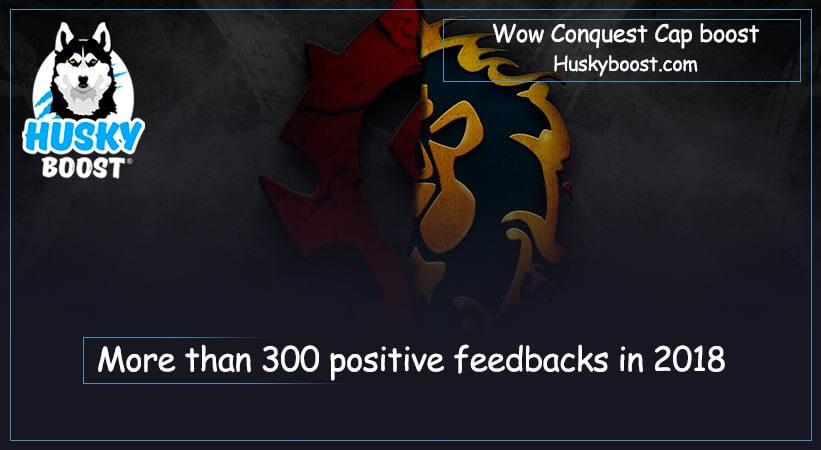 Wow conquest cap boost