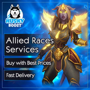 Unlock Allied Races with WoW boost