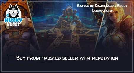 Battle of Dazar'Alor boost service