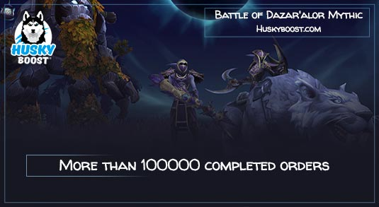 Battle of Dazar'alor Mythic Boost