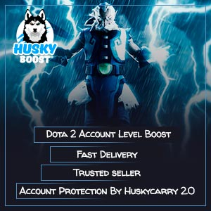 Dota 2 Account Level Boost