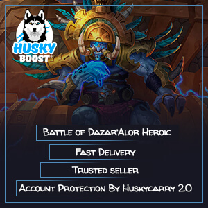 Battle of Dazar'Alor heroic boost run Image