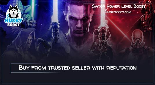 Swtor Power Level Boost Service