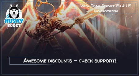 Buy Wow Gear Boost Service Eu & US