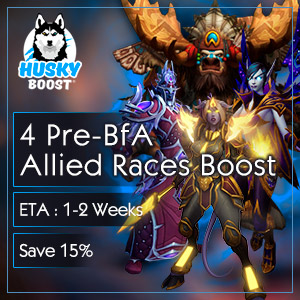 All 4 Pre-BfA Allied Races Boost