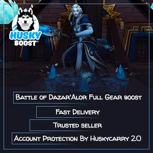 Battle of Dazar'Alor Full Gear boost service