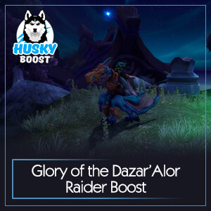 Glory of the Dazar'Alor Raider Boost