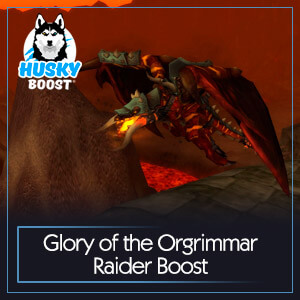 Glory of the Orgrimmar Raider Boost