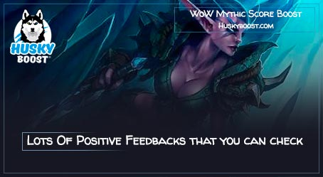 WoW Mythic Score Boost