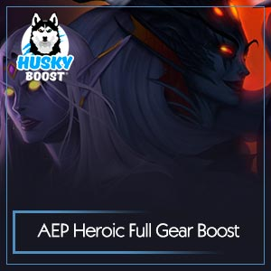 Azshara's Eternal Palace Heroic Full Gear Boost Image