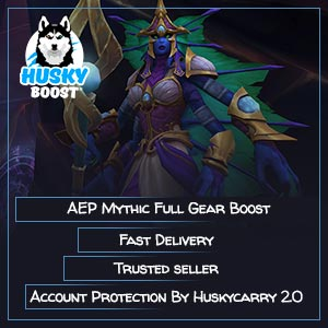Azshara's Eternal Palace Mythic Full Gear Boost