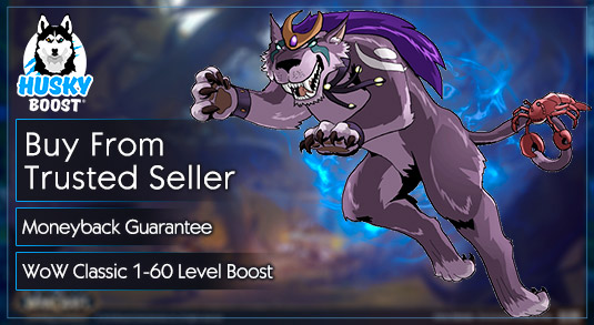 Buy WoW Classic 1 60 Character Level Boost Service - HuskyBoost.com