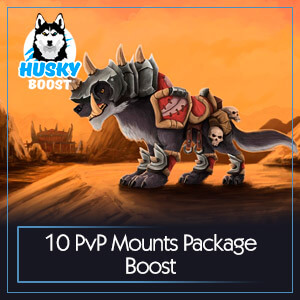 10 PvP Mounts Package Boost
