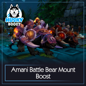 Amani Battle Bear Mount Boost