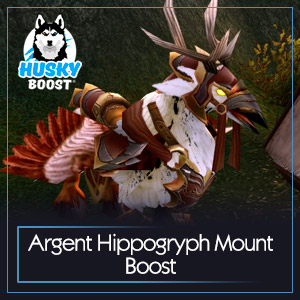 Argent Hippogryph Mount Boost