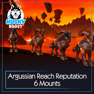 Argussian Reach Reputation 6 Mounts