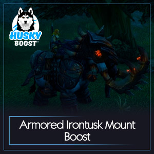 Armored Irontusk Mount Boost