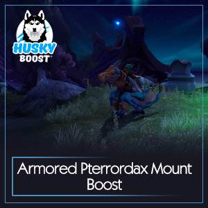 Armored Pterrordax Mount Boost