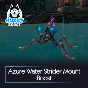 Azure Water Strider Mount Boost