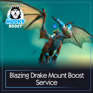Blazing Drake Mount Boost