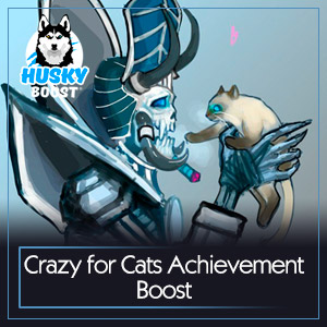 Crazy for Cats Achievement Boost